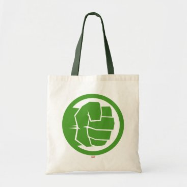 Incredible Hulk Logo Tote Bag