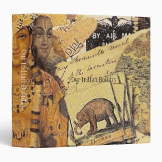 Indian Glories 3 Ring Binder