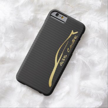 Infiniti G35 Coupe gold silhouette logo Barely There iPhone 6 Case
