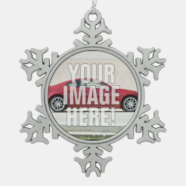 Infiniti G35 Coupe Photo - Add your car! Snowflake Pewter Christmas Ornament
