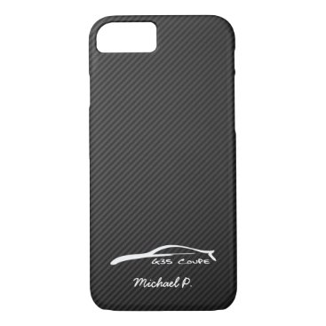 Infiniti G35 Coupe White Silhouette Logo iPhone 7 Case