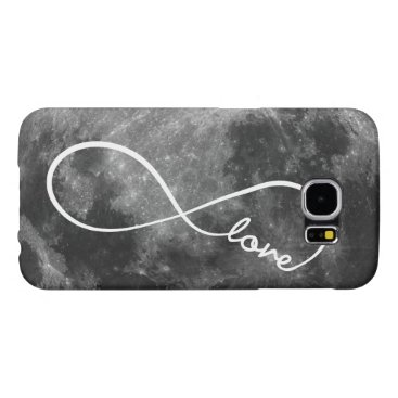 Infinity Love on the Moon Samsung Galaxy S6 Case