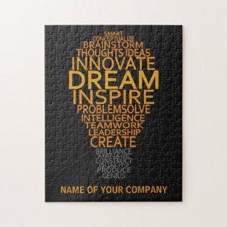 Inspirational Light Bulb custom puzzle
