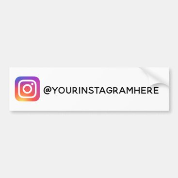 instagram social media modern trendy sticker