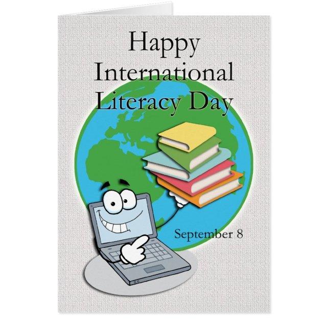 International Literacy Day September 8 Card