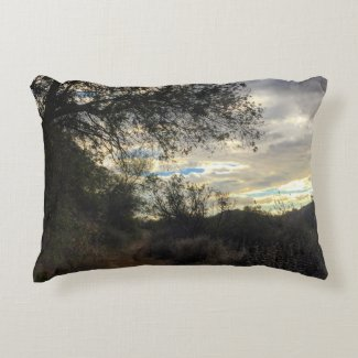 "Into the Woods Cotton Accent Pillow 16"" x 12"""
