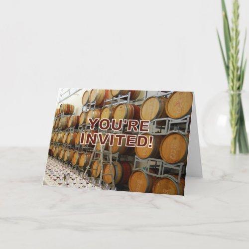 Invitation, Winery card