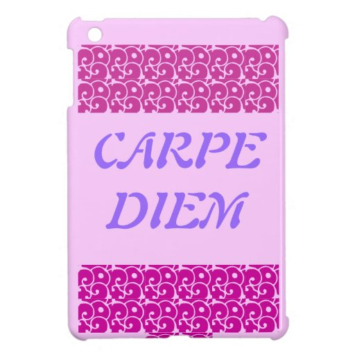 IPAD MINI CARPE DIEM iPad MINI CASE