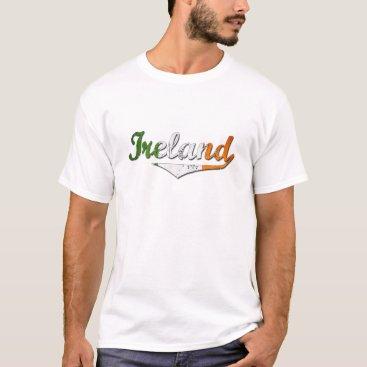 Ireland Retro Text T-Shirt