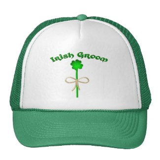 Irish Groom Trucker Hat