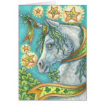 IRISH UNICORN HAPPY ST. PATRICK'S DAY CARD Horse