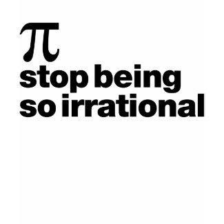 Irrational Pi shirt