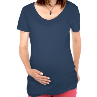 It started with a kiss red lips maternity tee