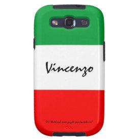Italian Flag Phone Cases Samsung