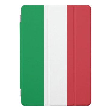 Italian flag of Italy personalizable iPad Pro Cover
