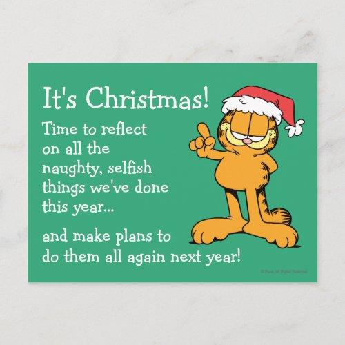 It's Christmas! Holiday Postcard