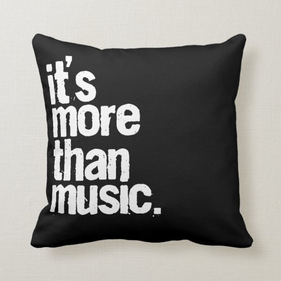 throw pillows with music designs