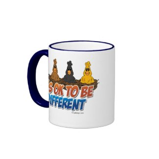 It's OK To be Different mug