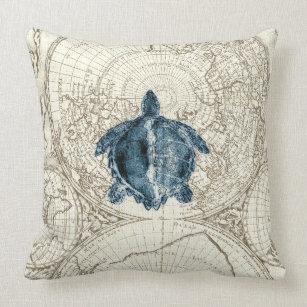sea turtle decorative throw pillows
