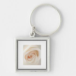 Ivory Rose Key Chain