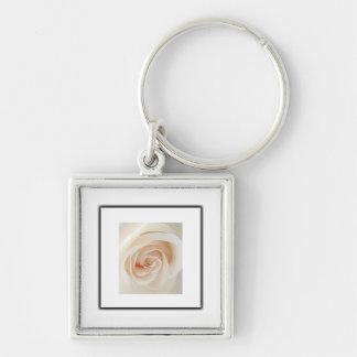 Ivory Rose Keychains