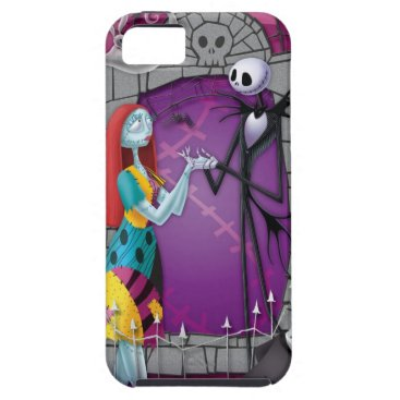 Jack and Sally Holding Hands iPhone SE/5/5s Case