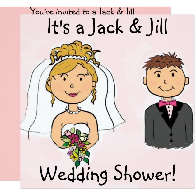 Baby Shower Invitations Jack And Jill