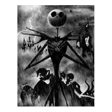 Jack Skellington   Ghostlike Charm Postcard