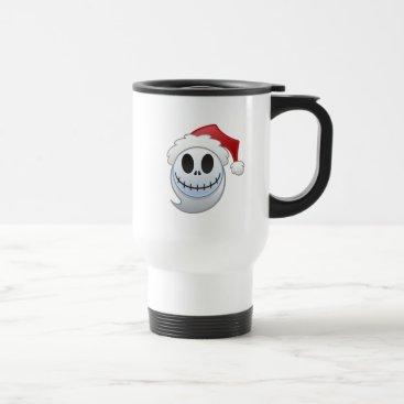 Jack Skellington Santa Emoji Travel Mug