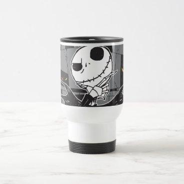 Jack Skellington | Spooky Eye Background Travel Mug