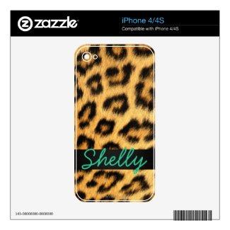 Jaguar Fur iPhone Skin