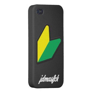 jdmasfck cursive iPhone 4/4S case