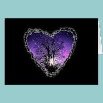 Jewels of the Sky Valentine Romance Love Card