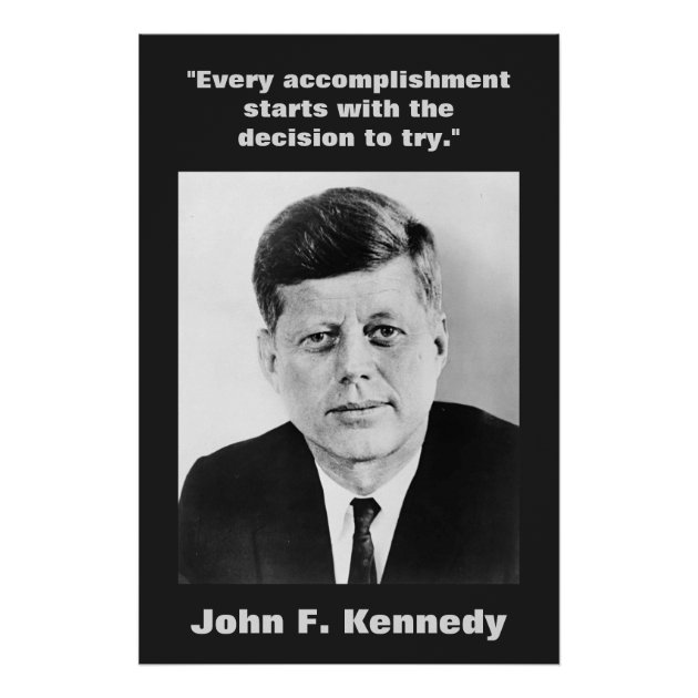 signs kennedy johnson campaign poster