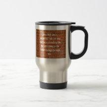 John 14:6 Bible Verse Brick Wall Travel Coffee Mug
