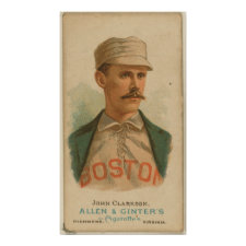 John Clarkson, Boston Beaneaters Posters