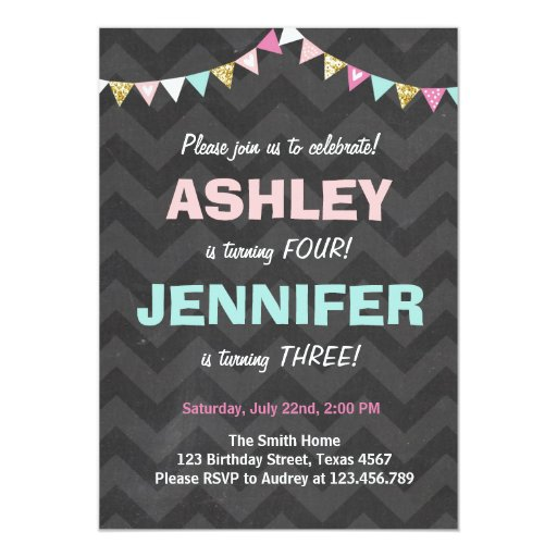 Create Birthday Invitation Card