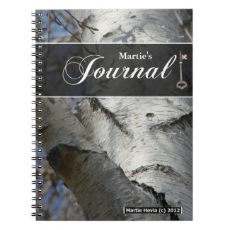 Journal Notebook - Birch Tree