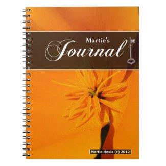 Journal Notebook - California Poppy