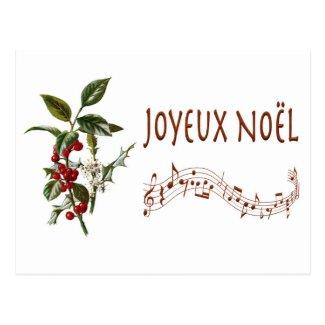 Joyeux Noël Postcard