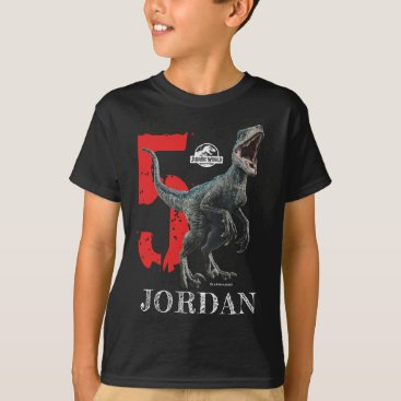 Jurassic World | Birthday - Name & Age T-Shirt