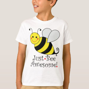 Just Bee Awesome Bumble Bee T-Shirt