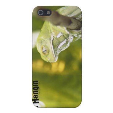 Just Hangin' Frog themed iPhone SE/5/5s Case