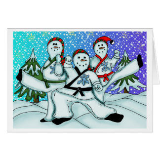 Karate Christmas Cards Zazzle