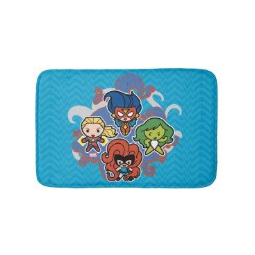 Kawaii Marvel Super Heroines Bathroom Mat