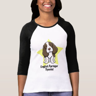 Kawaii Star English Springer Spaniel Tee Shirt