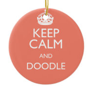 KEEP CALM AND DOODLE