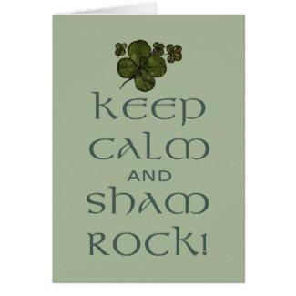 Keep Calm and Sham Rock!