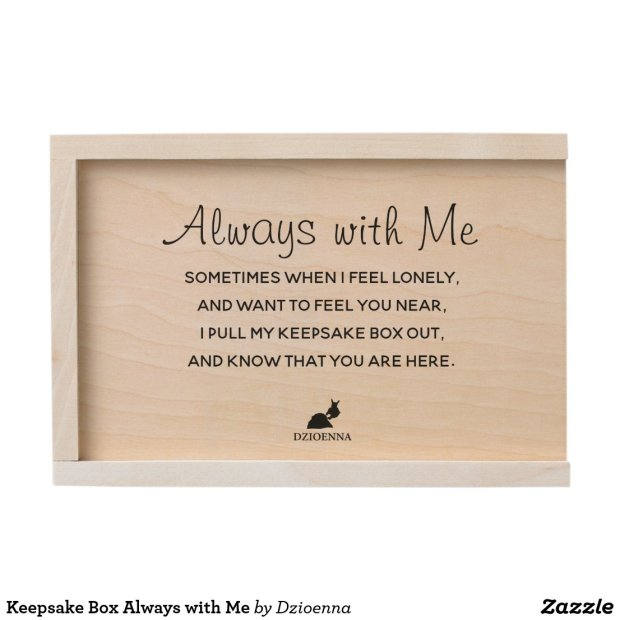 Keepsake Box Always with Me