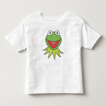 Kermit the Frog Cartoon Head Toddler T-shirt